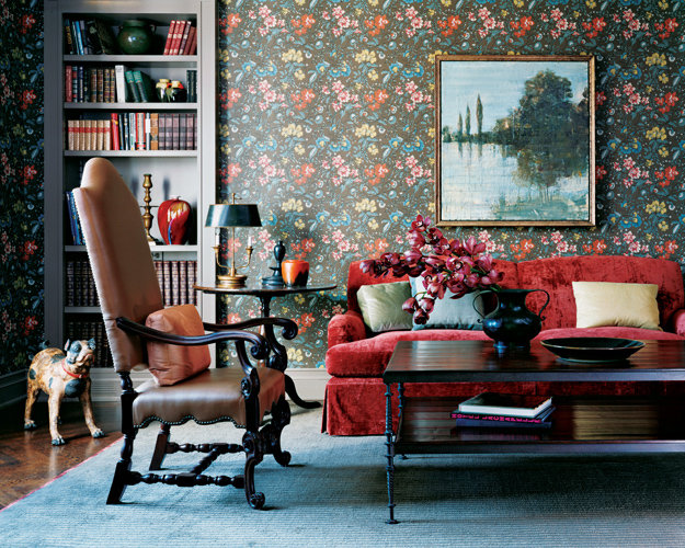 skirted-red-velvet-sofa-feels-deliciously-cozy-still-tailored