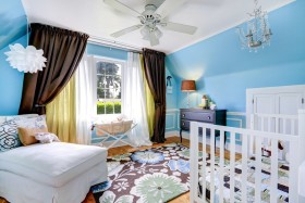 Working with an interior designer to create a nursery