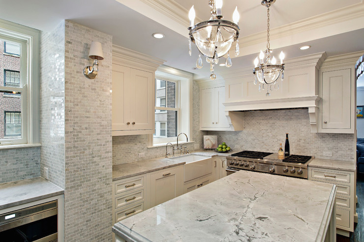 Marble kitchen interior design ideas
