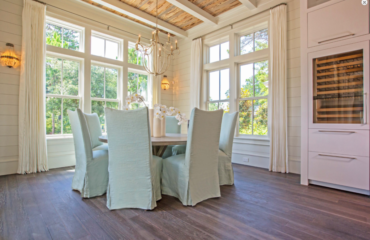 Shiplap Walls in Dining Rooms