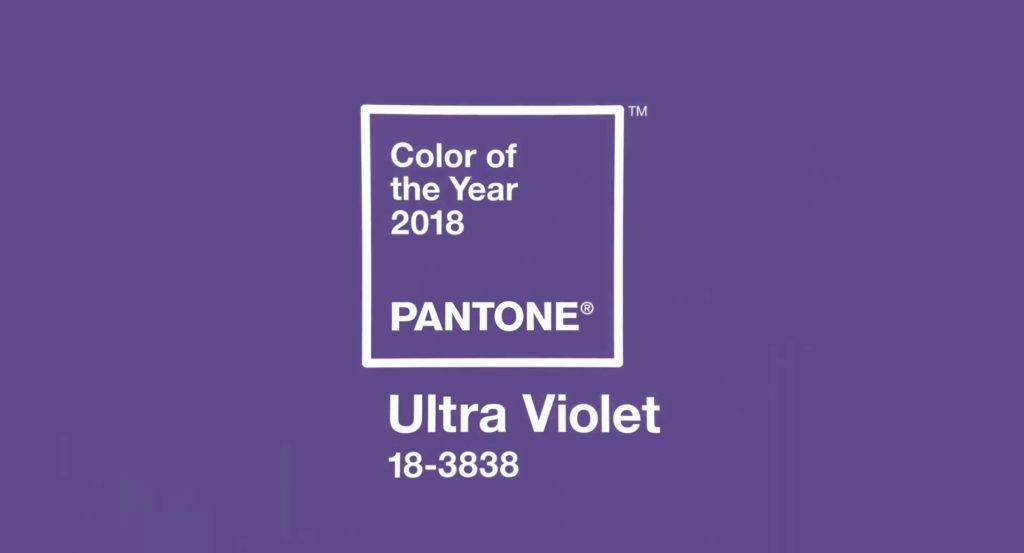 Pantone Color of the Year 2018 - Ultra Violet