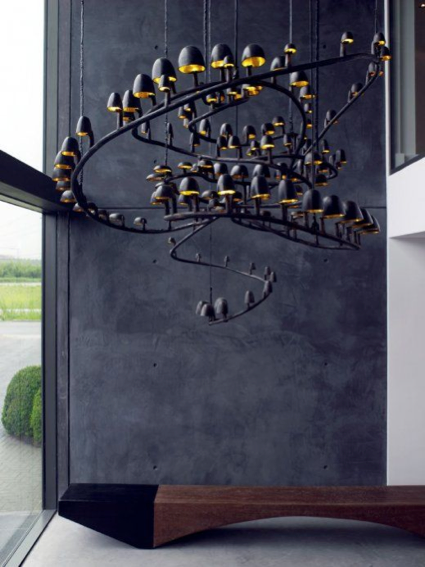 Sculptural lighting pieces
