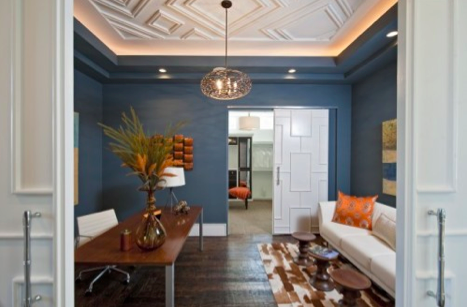 Creative Ceiling Treatments - Minneapolis Interior Design