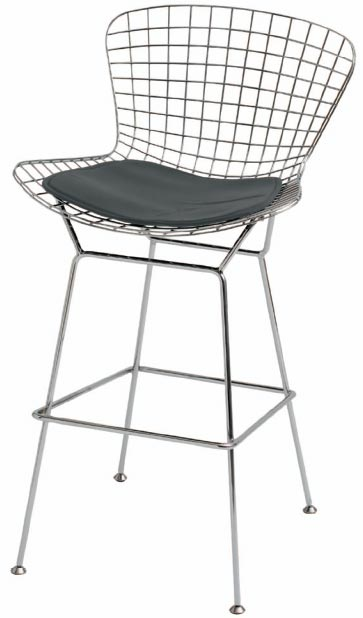 Wire-back bar stools