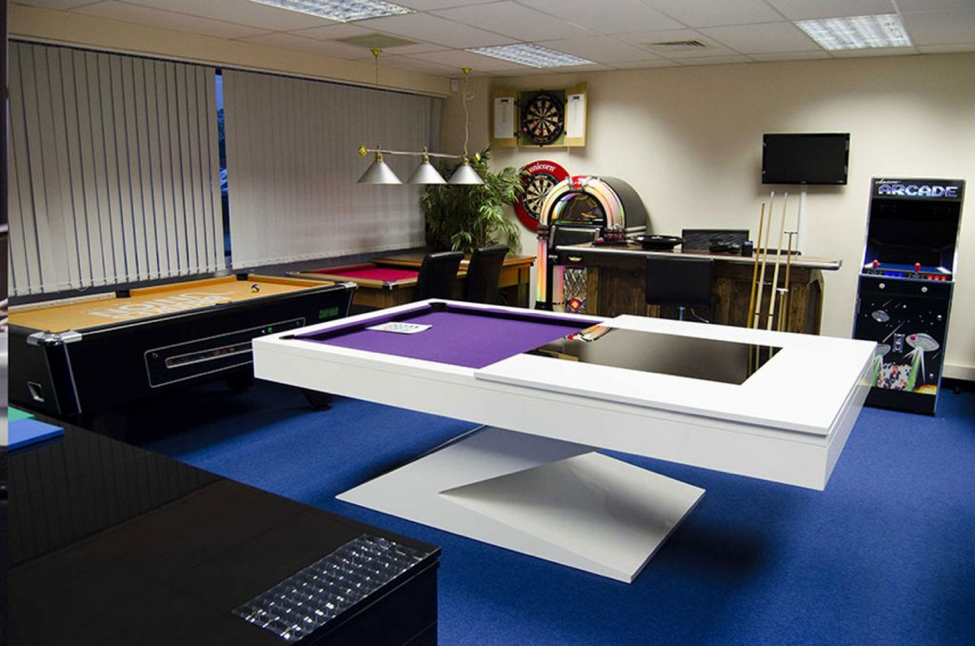 When you have a basement or a spare room in your house, why not turn it into a game area? It would make everyone in the family happy, and you'll have the perfect place to entertain your guests anytime, no matter their age or preferences, as everybody loves games!