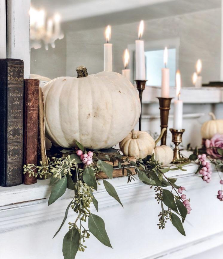 Tabletop Battery operated candles for Halloween Décor