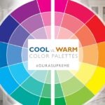 Cool vs Warm color palette. How colors affect your mood