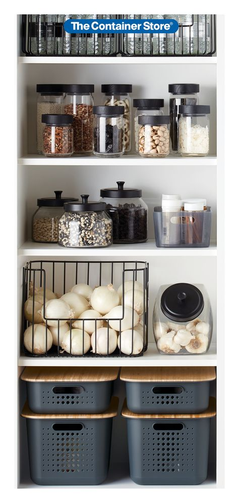 Organize your pantry for spring cleaning