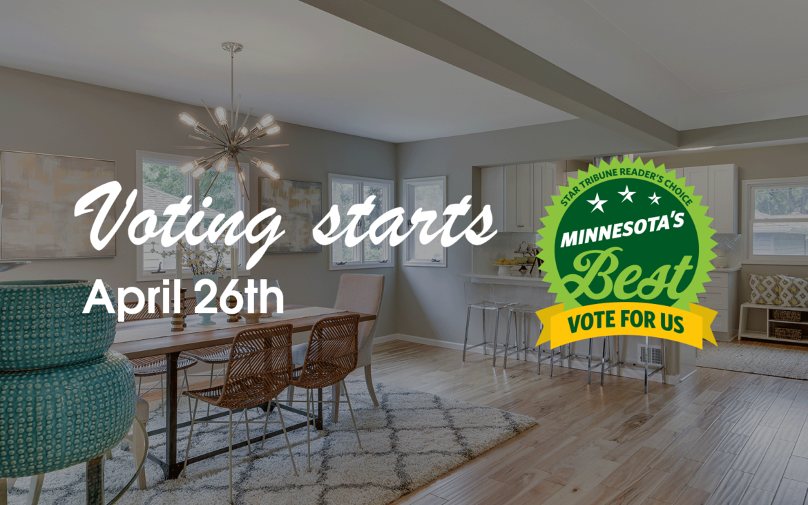 Vote Tiffany Hanken Design Minnesota's Best