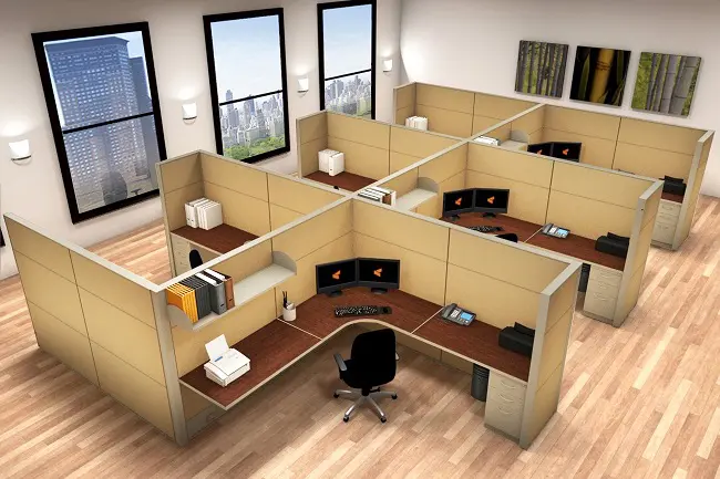 Modern Office Cubicles